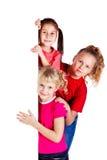 skratta för ungar som är litet Royaltyfri Fotografi