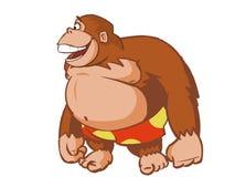 skratta orangutan Vektor Illustrationer