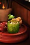skratta set tea för buddha kines Royaltyfria Foton