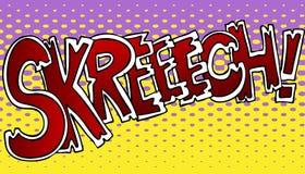 Skreech Sound Effect Royalty Free Stock Photos