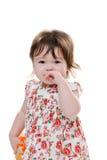 Skriande litet barn Royaltyfri Fotografi