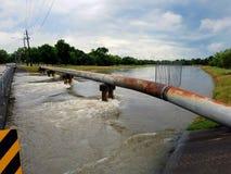 Skriar flodarmen Houston Royaltyfria Foton