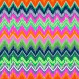 Skribble zigzag Royalty Free Stock Image