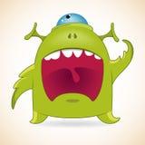 Skrikigt monster Arkivfoton