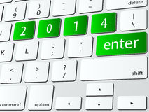 Skriv in 2014 Fotografering för Bildbyråer
