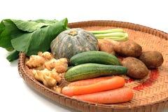 skriv den olika grönsaken Royaltyfri Foto