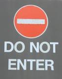 skriv in inte Fotografering för Bildbyråer