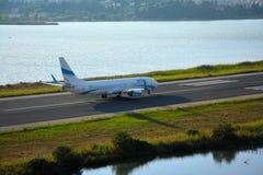 Skriv in luftflygplan Royaltyfri Fotografi