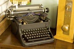 skriv tappningförfattare Royaltyfri Fotografi