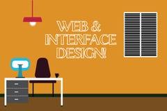Skriva anmärkningsvisningrengöringsduk och manöverenhetsdesign Affärsfoto som ställer ut framkallning för Websiteformgivareonline royaltyfri illustrationer