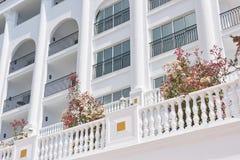 Skriva ett lyxigt sommarvillahotell Amara Dolce Vita Luxury Hotel härlig arkitektur Tekirova-Kemer Turkiet Arkivbilder