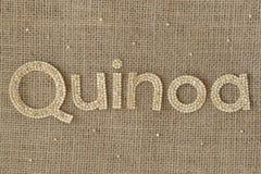Skriva för Quinoakorn Royaltyfria Bilder