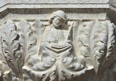 Skriva i medeltid Royaltyfria Foton
