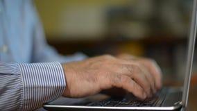 skrivande för datortangentbord lager videofilmer