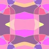 Skrivar sömlösa rosa färger ut för grafisk modell vektorillustrationen eps10 Royaltyfri Bild