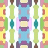 Skrivar sömlösa rosa färger ut för grafisk modell vektorillustrationen eps10 Arkivbild