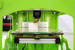 skrivare 3D Royaltyfria Foton