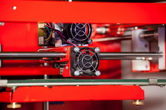 skrivare 3D Arkivfoto