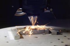 skrivare 3D för metall Royaltyfria Foton