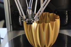 skrivare 3D för plast- Royaltyfri Foto