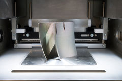 Skrivare för metall 3D & x28; DMLS& x29; royaltyfri bild