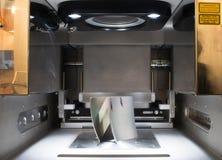 Skrivare för metall 3D & x28; DMLS& x29; Royaltyfria Foton