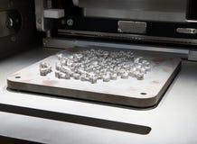 Skrivare för metall 3D & x28; DMLS& x29; Arkivbild