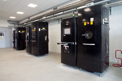 Skrivare för metall 3D & x28; EBM& x29; Fotografering för Bildbyråer
