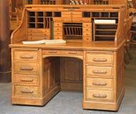 Skrivbord för tappningrullöverkant Royaltyfri Fotografi