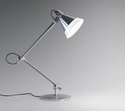 Skrivbordlampa Arkivbild