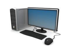 Skrivbords- dator Royaltyfria Bilder