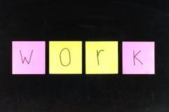 Skrivbordsarbete Arkivfoto