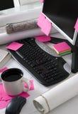 skrivbordtekniker Royaltyfria Bilder