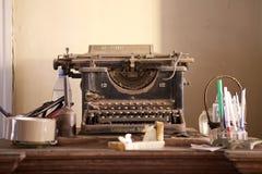 Skrivmaskin Fotografering för Bildbyråer