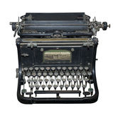 Skrivmaskinen av början av 20 århundraden Royaltyfria Bilder
