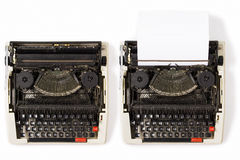 skrivmaskiner Royaltyfri Foto