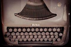 Skrivmaskinshebrétypebars Royaltyfria Foton