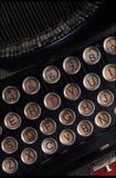 skrivmaskinstappning Royaltyfria Foton