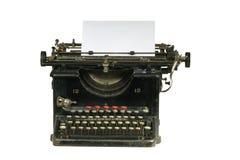 skrivmaskinstappning royaltyfri fotografi