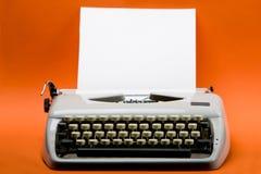 skrivmaskinstappning Arkivfoton