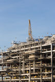 Skroplony gaz naturalny rafinerii fabryka Zdjęcia Royalty Free