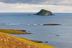 Skrudur island, Iceland Stock Photo