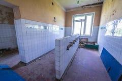 Skrunda em Letónia fotografia de stock