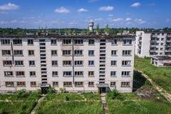 Skrunda en Lettonie image libre de droits