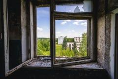 Skrunda in Lettland stockfoto