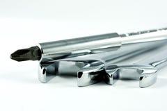 skruvmejselskiftnycklar Fotografering för Bildbyråer