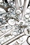 skruvnycklar för bultmuttrar Royaltyfri Foto