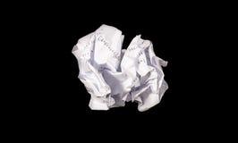 skrynkla papper royaltyfria foton