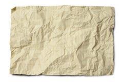 skrynklig laglig paper yellow Fotografering för Bildbyråer