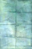 skrynklig paper tappning Arkivbilder